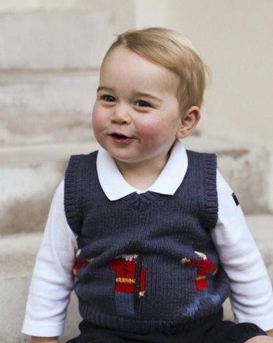 Tak Książę Jerzy wyglądął w listopadzie.