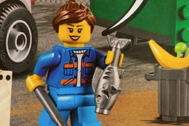 Czerolatka jest fanką Lego. Nie spodobał jej się jednak brak postaci kobiecych