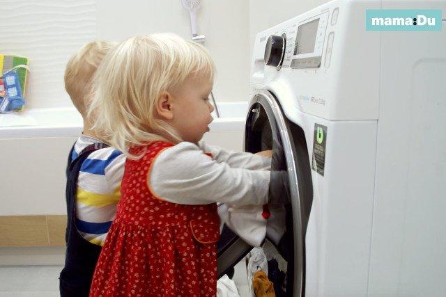 Dzieci były zafascynowane funkcją AddWash.
