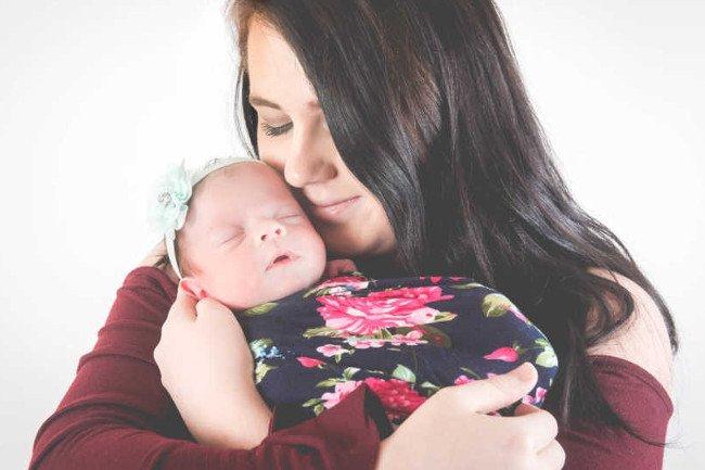 Mama i córka są już w domu