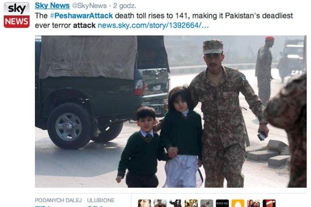 W wyniku ataku talibów na szkołę w Peszewarze zginęło 141 osób w tym 132 dzieci.