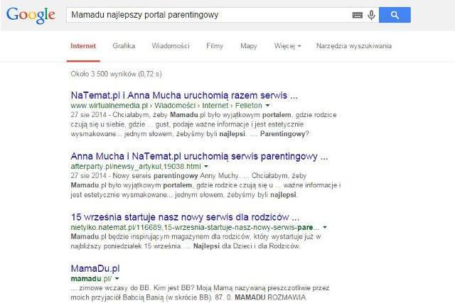 Google prawdę Ci powie...