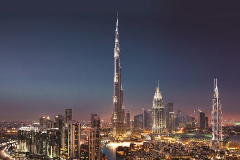 Burj Khalifa, symbol Dubaju i Zjednoczonych Emiratów Arabskich, to najwyższy budynek na świecie. Mierzący 829 metrów wieżowiec jest dumą świata arabskiego