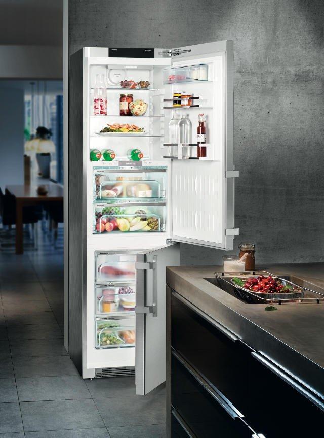 Nowoczesna lodówka to klucz do domowych oszczędności. Na zdjęciu Liebherr BluPerformance Premium