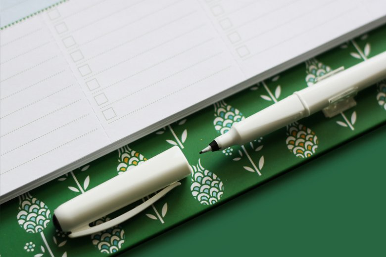 Pisak jest ulubionym dodatkiem twórczyń kalendarza. To dodatek, który bardzo wyróżnia go wśród innych.