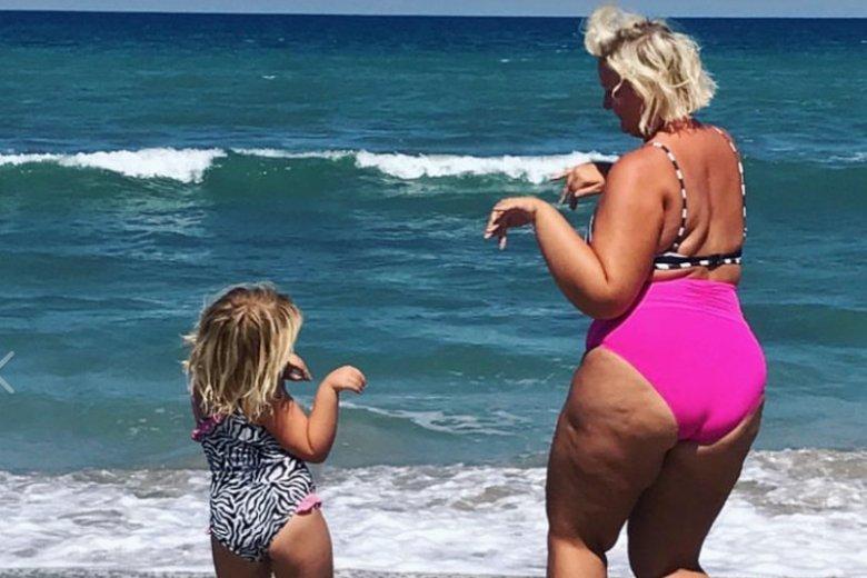 Rozmowa z córką o otyłości.