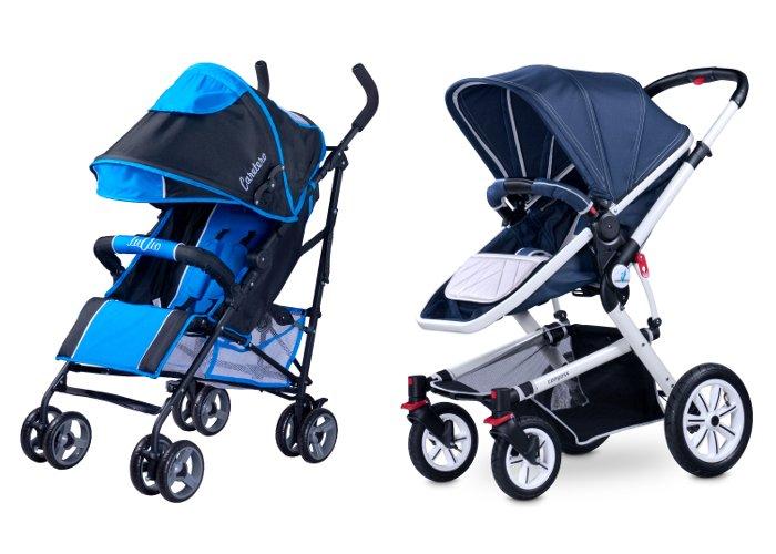 Lekka i kompaktowa spacerówka czy uniwersalny wózek wielofunkcyjny?
