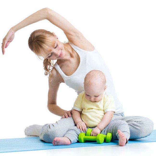 Ćwiczenia z niemowlęciem