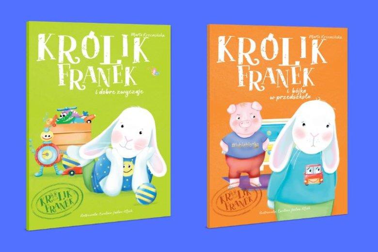 Głównym bohaterem książek Marty Krzemińskiej jest chodzący do przedszkola sympatyczny królik