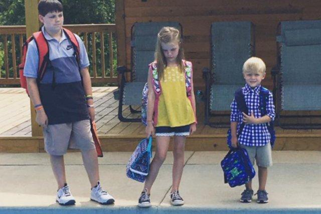 Tym zdjęciem matka trójki dzieci wygrała internet!