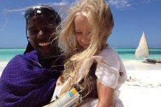 Małą Reporterka była w wielu miejscach. Tutaj zdjęcie zrobione na Zanzibarze.