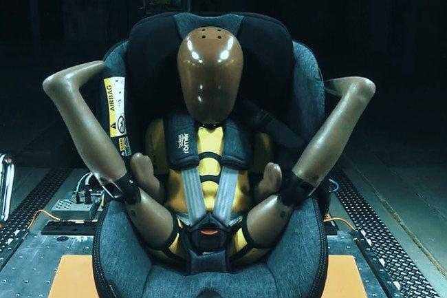 Firma Britax Roemer ma doświadczenie również w produkcji pasów bezpieczeństwa.