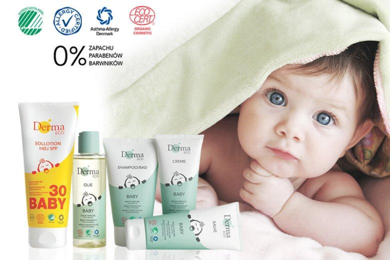 Wysoką jakość i bezpieczeństwo Derma Eco Baby potwierdza unikalne na skalę światową połączenie aż 4 międzynarodowych certyfikatów: Allergy Certified, Asthma Allergy Denmark, Ecocert Organic i Nordic Ecolabel