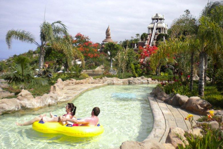 Siam Park to największa w Europie atrakcja zaliczana do parków wodnych.
