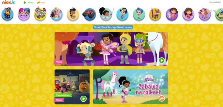 Ramówka kanału Nick Jr. wypełniona jest po brzegi animacjami łączącymi wartościową naukę z emocjonującą rozrywką