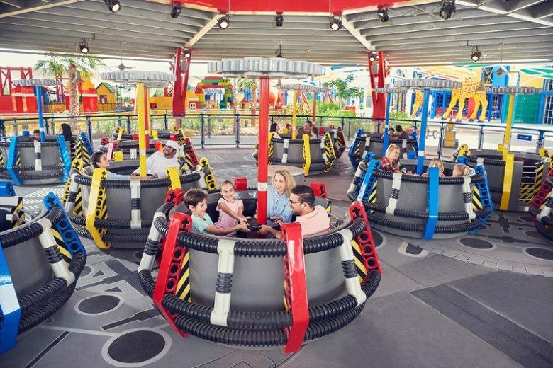 W dubajskim Legolandzie mogą się bawić całe rodziny