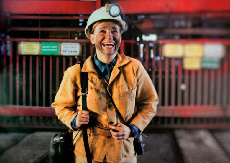 Aleksandra Nielaba, geolog w kopalni Rydułtowy-Anna Kompanii Węglowej