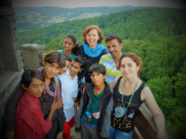 Magdalena Sawicka i odważne dzieci z Indii