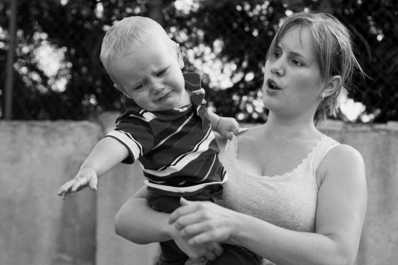 Jak krzyk wpływa na dziecko?