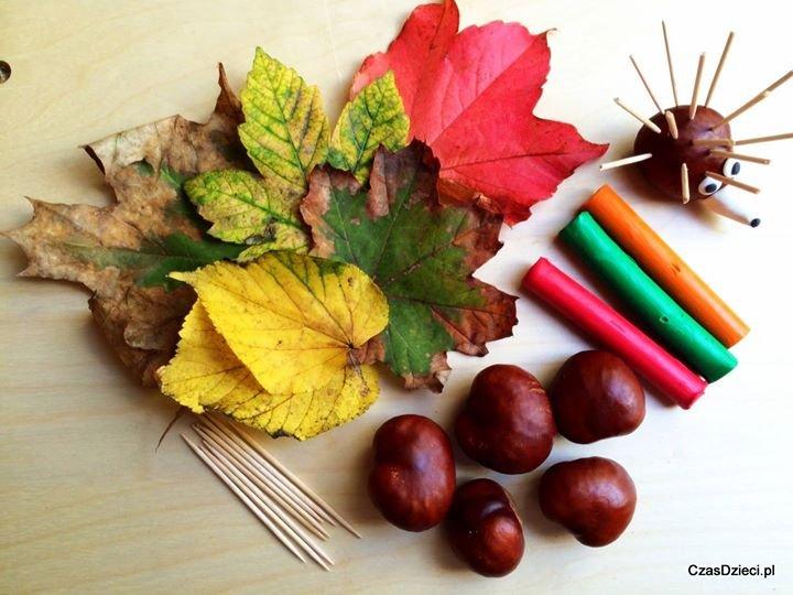 Kolorowych liści na niedzielnych warsztatach na pewno nie zabraknie.