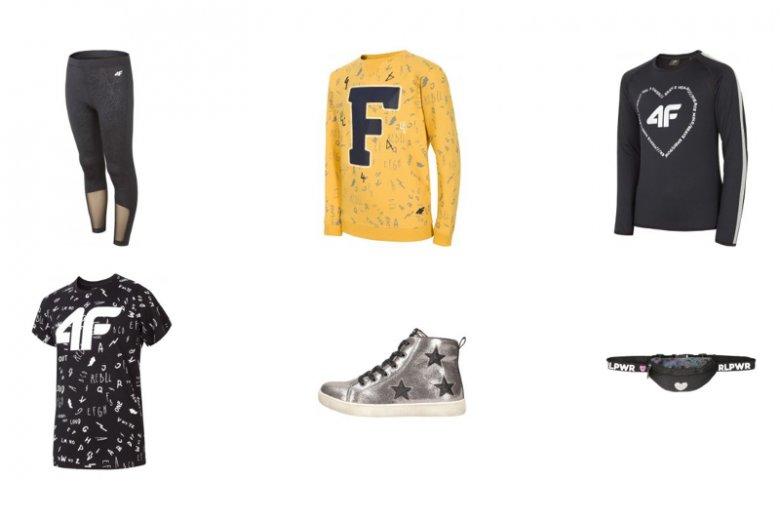 Zgodnie ze sportowym duchem marki w kolekcji 4F znajdziemy koszulki, dresy, legginsy i obuwie - wszystkie elementy garderoby idealnie sprawdzające się na lekcjach WF-u czy innych zajęciach ruchowych