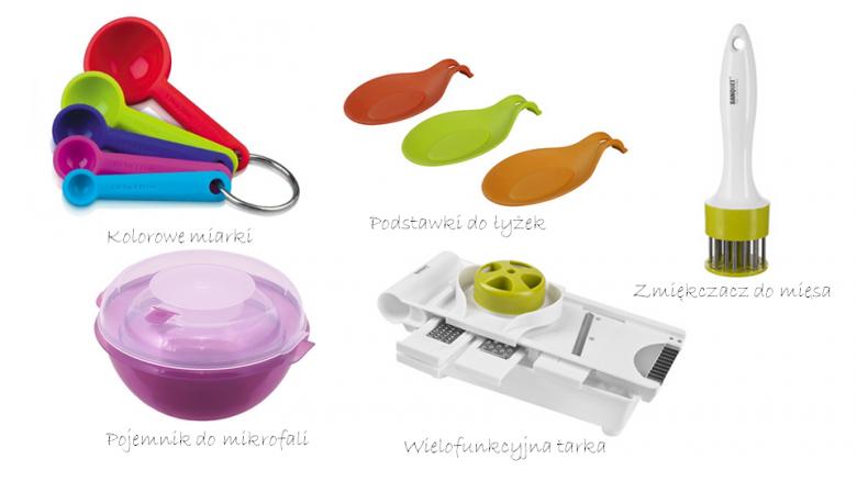 Kolorowe przedmioty nadadzą kuchni wyjątkowy charakter