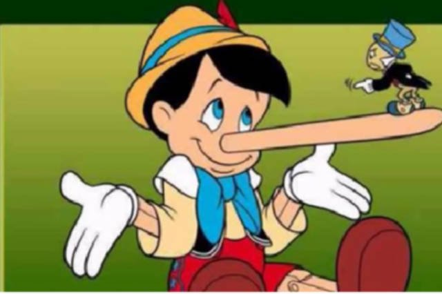 Gdy kłamiemy nasz nos staje się cieplejszy.