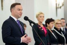 Prezydent Andrzej Duda wręczył odznaczenia matkom.