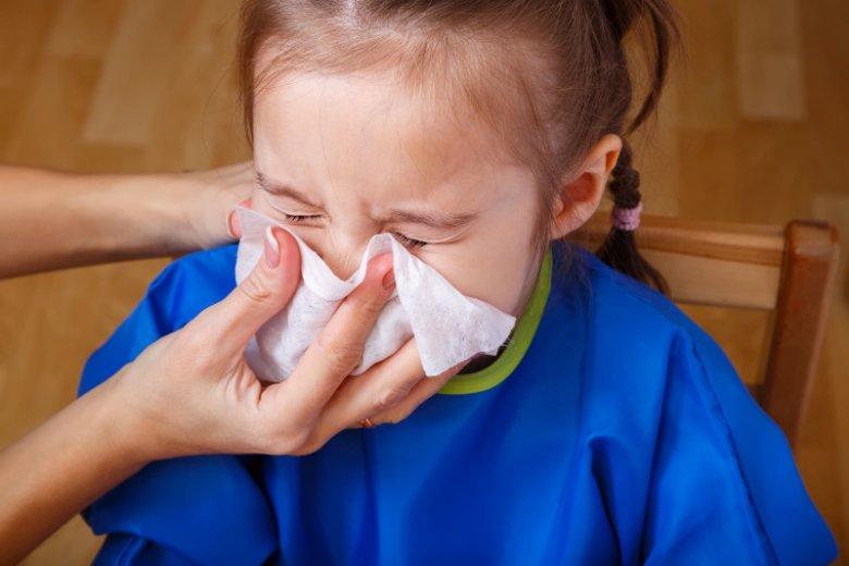 Oprócz mycia rąk higiena nosa to abecadło profilaktyki zdrowotnej u dzieci