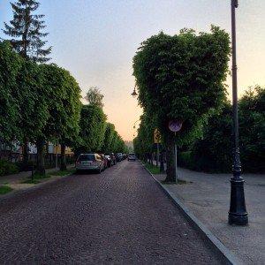 Ulica w Oliwie