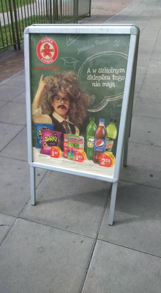 A w sklepiku szkolnym tego nie mają...