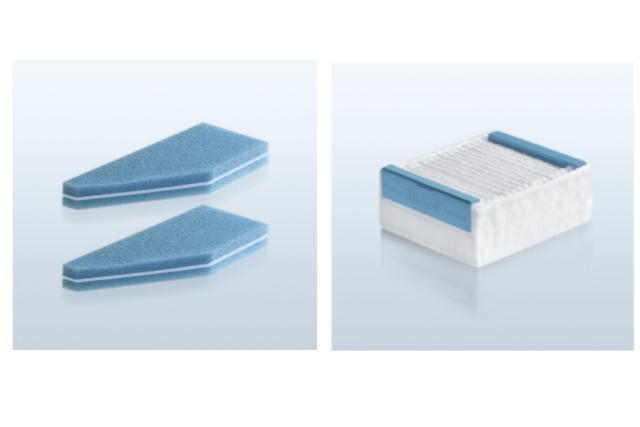 Filtry osuszające ze specjalnym filtrem przeciwpyłkowym oraz filtr HEPA13
