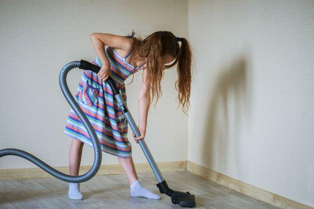 Dzieci powinny mieć swoje obowiązki w domu.
