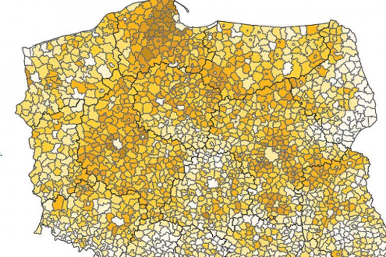 Raport demograficzny GUS.