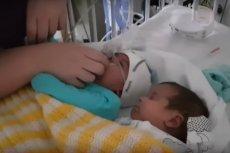 Obecność brata bliźniaka uratowała życie przedwcześnie urodzonemu Deiniol'owi