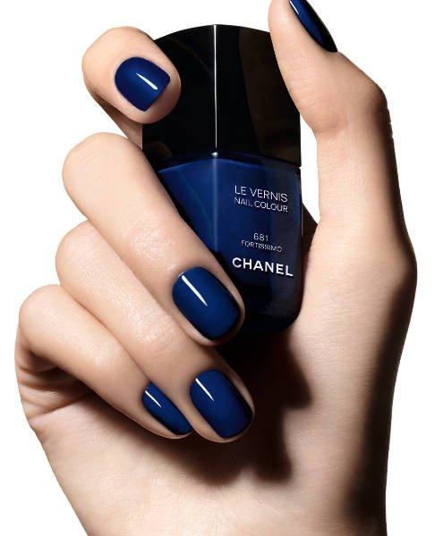 Lakier z kolekcji Blue Rythm Chanel