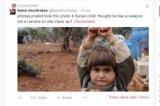 Fot. Screen z Twittera / [url=https://twitter.com/NadiaAbuShaban]Nadia AbuShaban[/url]