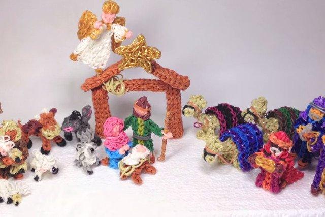 Rainbow Loom w świątecznym nastroju