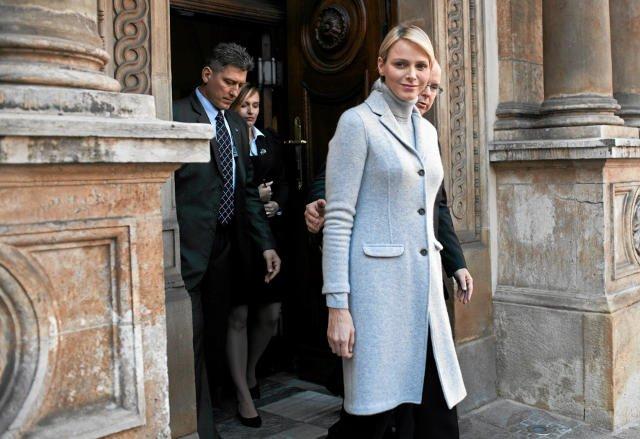 Księżna Charlene Wittstock potwierdziła, że spodziewa się bliźniąt