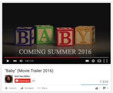 Screen z You Tube