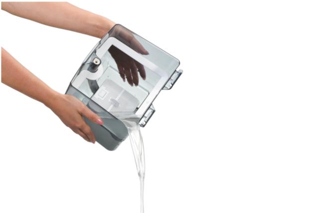 Opróżnianie filtra wodnego Aqua-Pure
