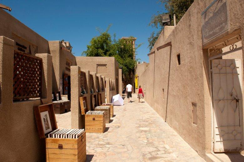 Pod względem historycznym w Dubaju jest też na czym zawiesić oko. Na zdjęciu fragment najstarszej dzielnicy miasta – Al Fahidi.