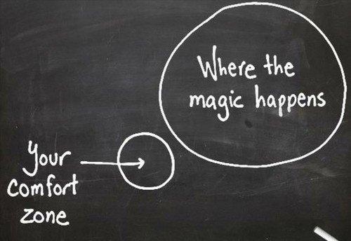 Magia dzieje się daleko poza strefą komfortu. Czy aby na pewno?
