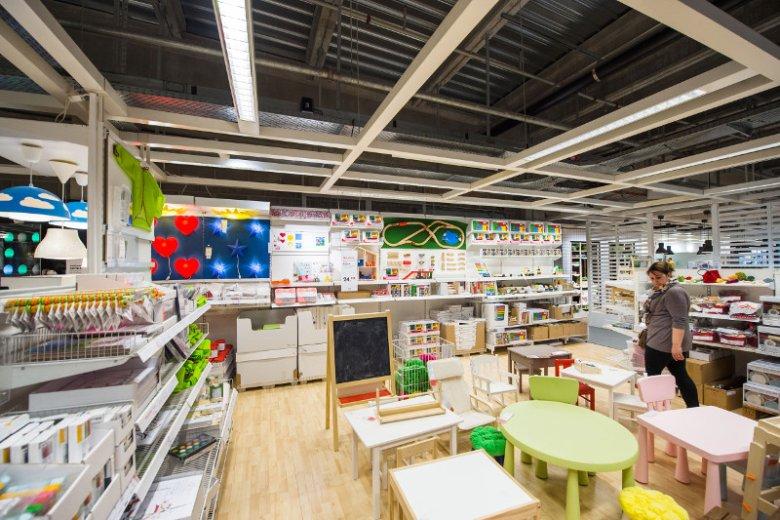 """IKEA jest znana ze swoich """"przyjaznych stref"""" dla dzieci."""