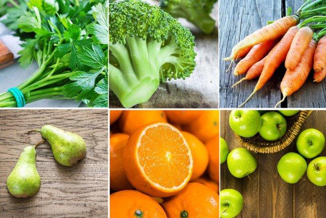 Pietruszkę, brokuły, marchew, a także gruszki, pomarańcze i jabłka przechowujemy w lodówce.