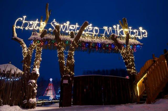 W czasie tego weekendu w Bałtowie bedzie okazja odwiedzić Chatę Świętego Mikołaja.