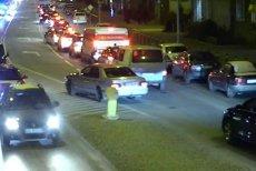 W Gdańsku policjanci eskortowali auto, którym ojciec wiózł chorego syna do szpitala