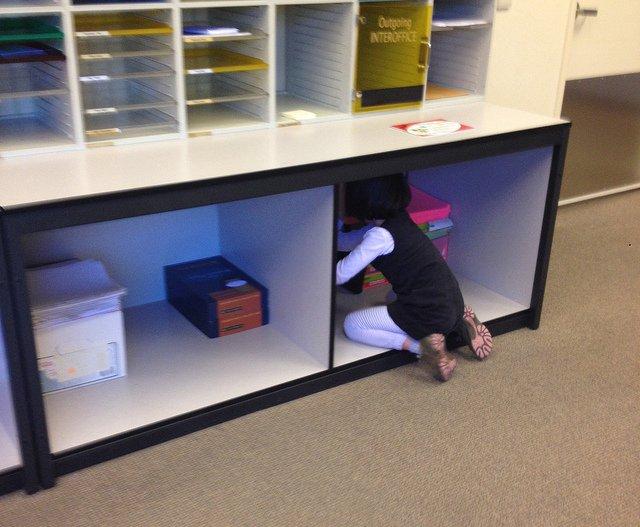 W biurze rodzica nie jest nudno