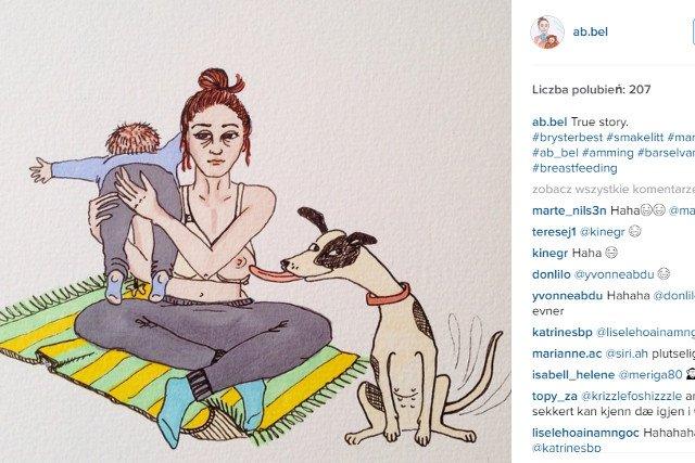Fot. Screen z Instagrama / [url=https://www.instagram.com/ab.bel/]ab.bel[/url]