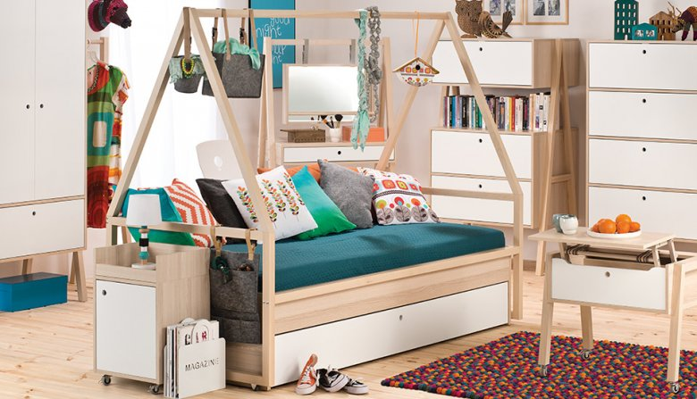Funkcjonalny pokój dla dzieci